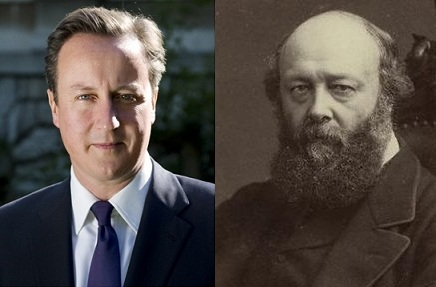 David Cameron and Robert Cecil